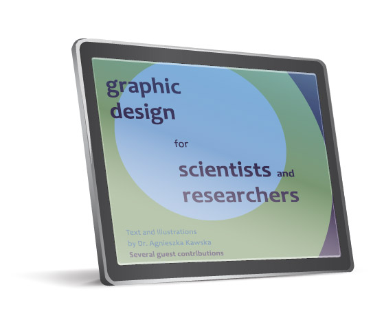 Graphic design for scientists and researchers - 2020 IlluScientia - titlepage
